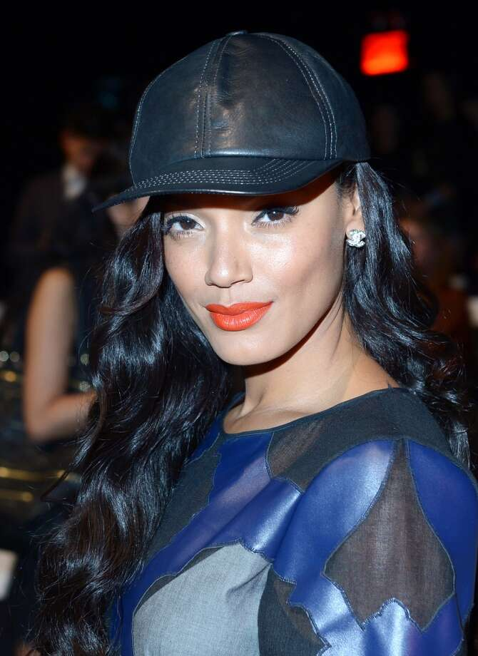 Model Selita Ebanks attends the BCBGMAXAZRIA Spring 2014 fashion show during Mercedes-Benz Fashion Week at The Theatre at Lincoln Center on September 5, 2013 in New York City. Photo: Michael Loccisano, Getty Images For Mercedes-Benz Fashion Week
