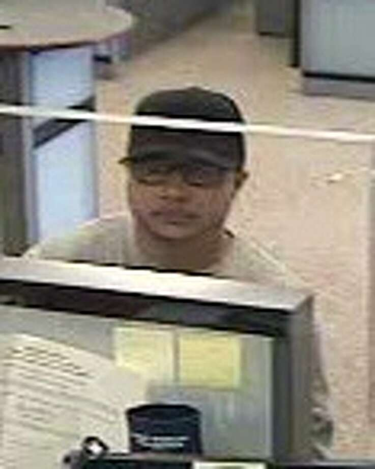 Police are looking for this man, believed to have committed two bank robberies in Greenwich. Photo: Contributed Photo