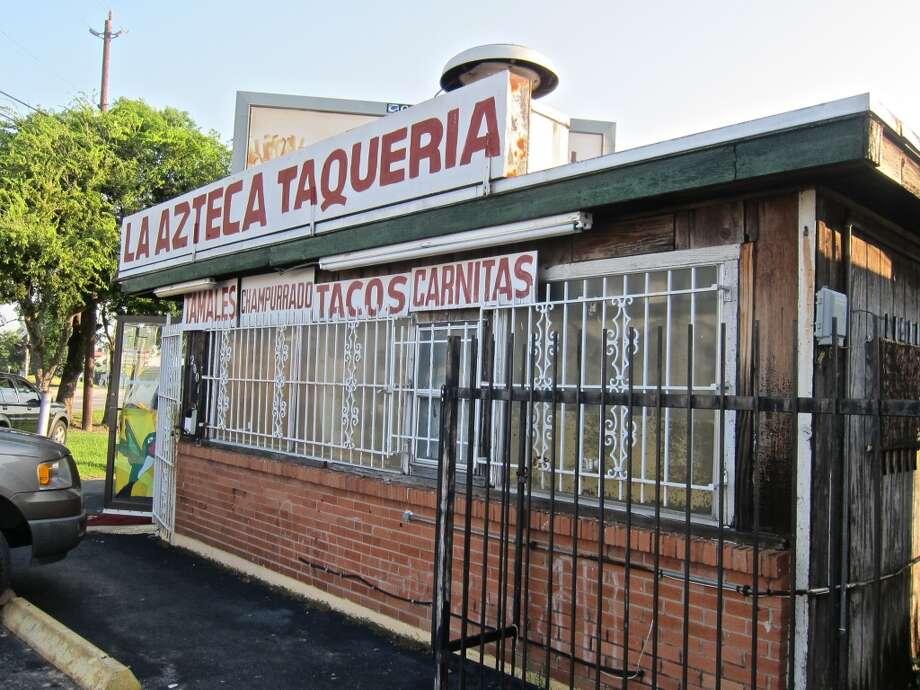 La Azteca. Photo: Alison Coo
