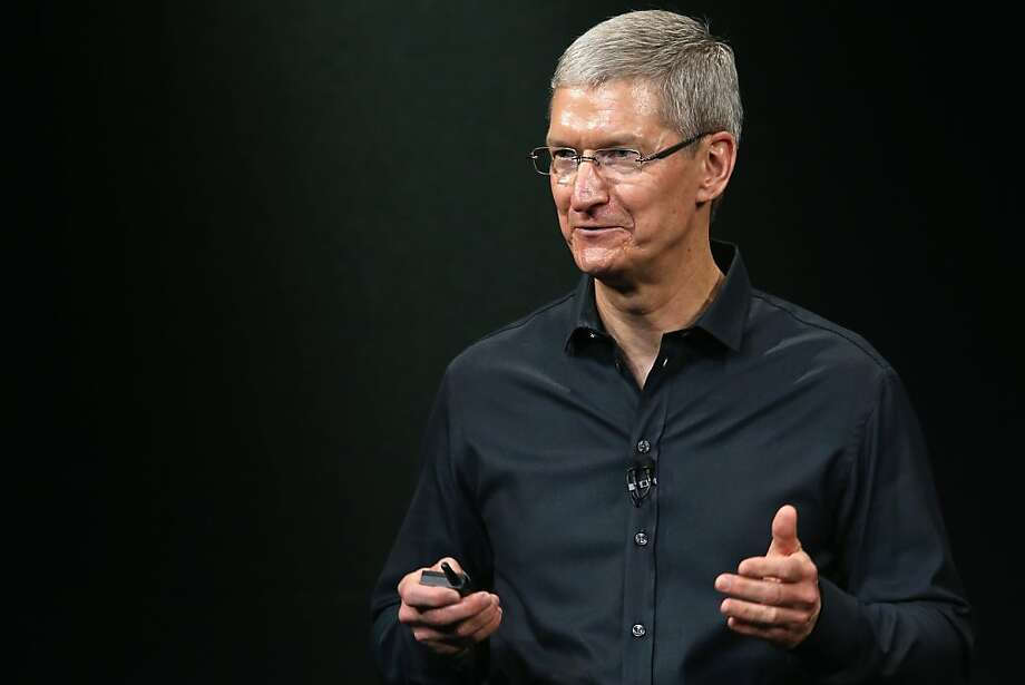 Apple CEO Tim Cook is adding companies to bring new technology to Apple products. Photo: Justin Sullivan, Getty Images
