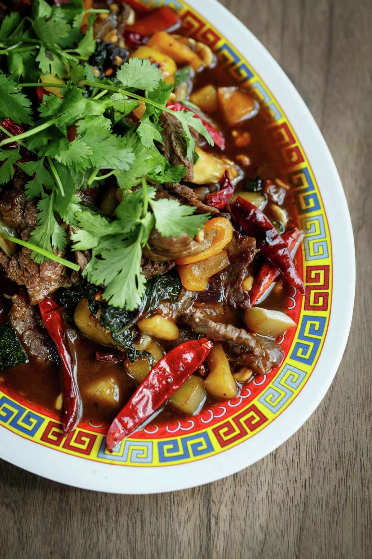 Mongolian Style Wagyu Beef at Underbelly.