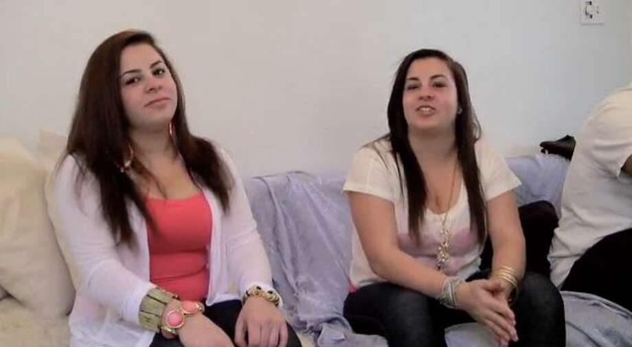 Staten Island residents Alyssa and Toni Chiarelli in a scene from the 2013 documentary If These Knishes Could talk.