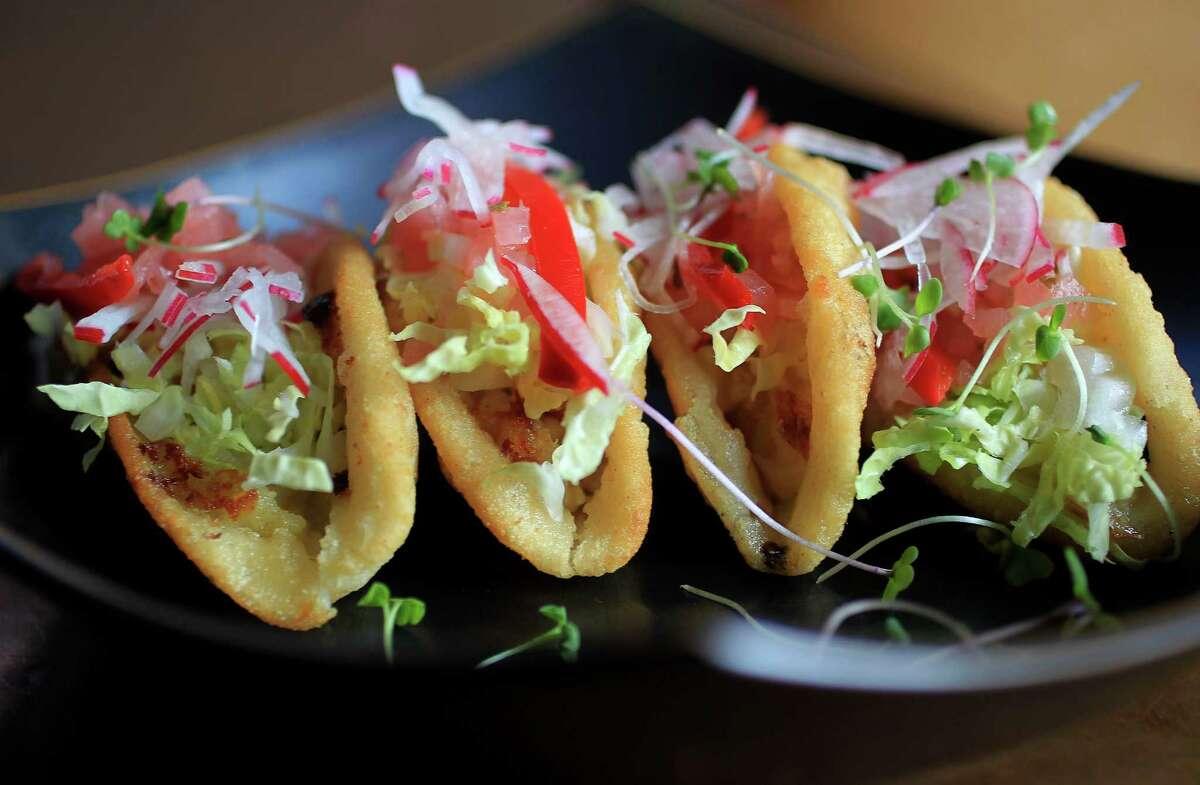The Tacos Dorados at Hugo's