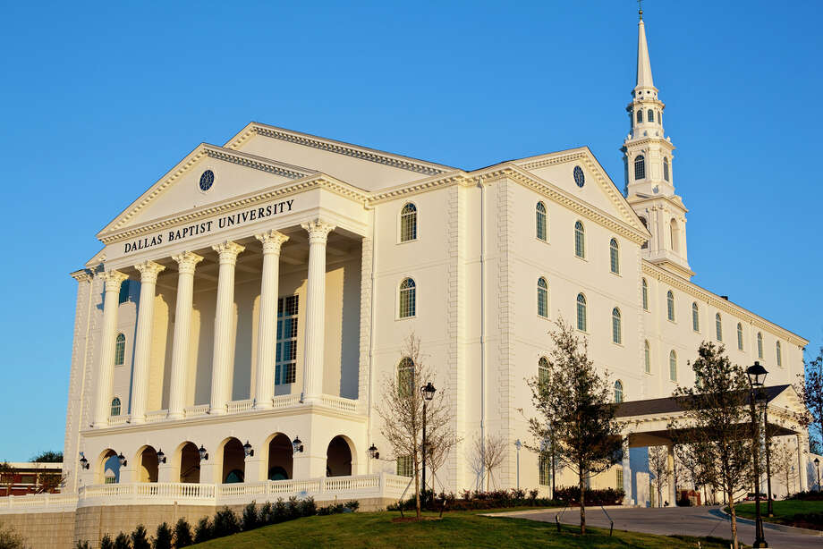 Dallas Baptist UniversityTuition and fees: $22,350For more information on the real cost of private schools, visit HoustonChronicle.comSource: US News Photo: Credit Flickr Photo Share/Saburkha