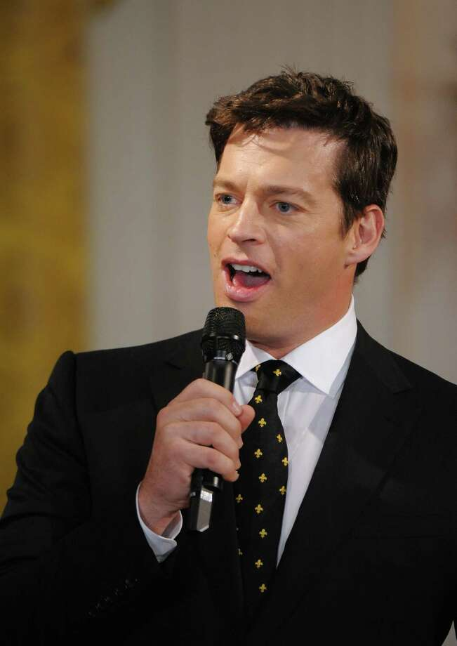 Grammy Award Winning artist, Harry Connick Jr performs as US First Lady Michelle Obama gives local music students a special preview of the talent performing at the White House?s annual Governors? Ball at the White House in Washington, DC, on February 21, 2010. AFP PHOTO/Jewel SAMAD (Photo credit should read JEWEL SAMAD/AFP/Getty Images) Photo: JEWEL SAMAD / AFP