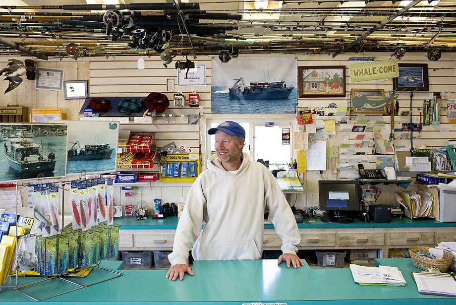 Brian Cutting, a skipper on the Chubasco, also provides counter intelligence for Randy's Fishing and Whale Watching Trips of Monterey Bay. Photo: Jason Henry, Special To The Chronicle