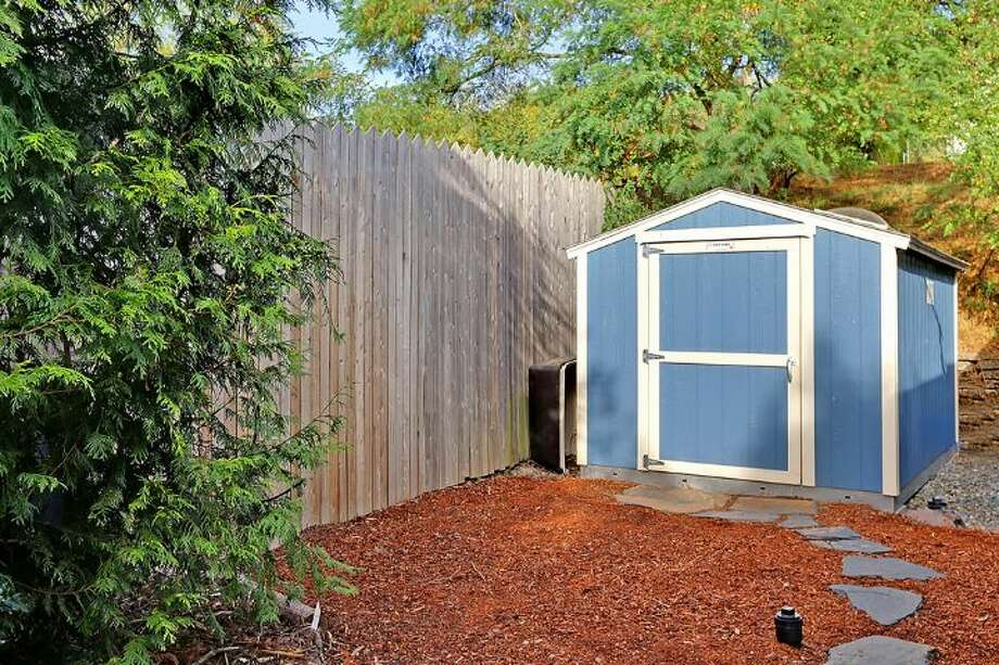 Shed of 6558 16th Ave. S.W. It's listed for $250,000. Photo: Courtesy Jody Baker, Windermere Real Estate
