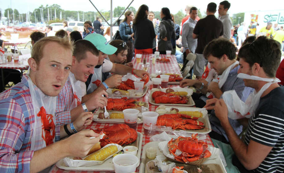 Lobsters were the main event at Westport Rotary's Lobster Fest last year. Lobsters (and steaks) are on the menu again for this year's Fest on Sept. 21. Photo: Contributed Photo / Westport News