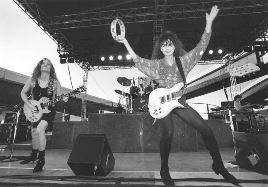 Here's another shot of that Bangles concert on the Beltway. You can read more about it here. Photo: Kerwin Plevka, Houston Chronicle