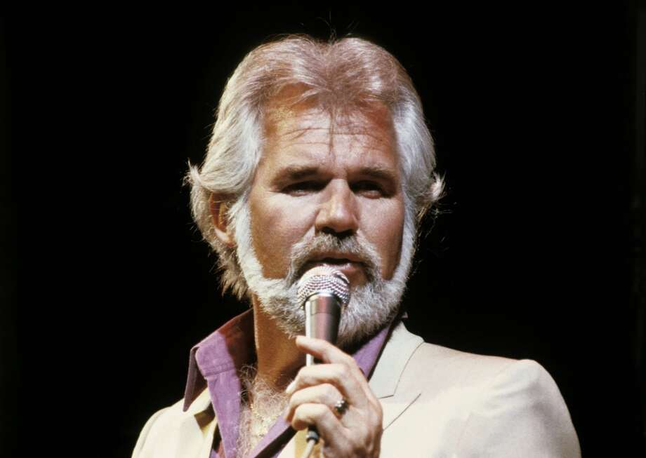 Kenny Rogers at the Frank Erwin Center in Austin, around 1980.