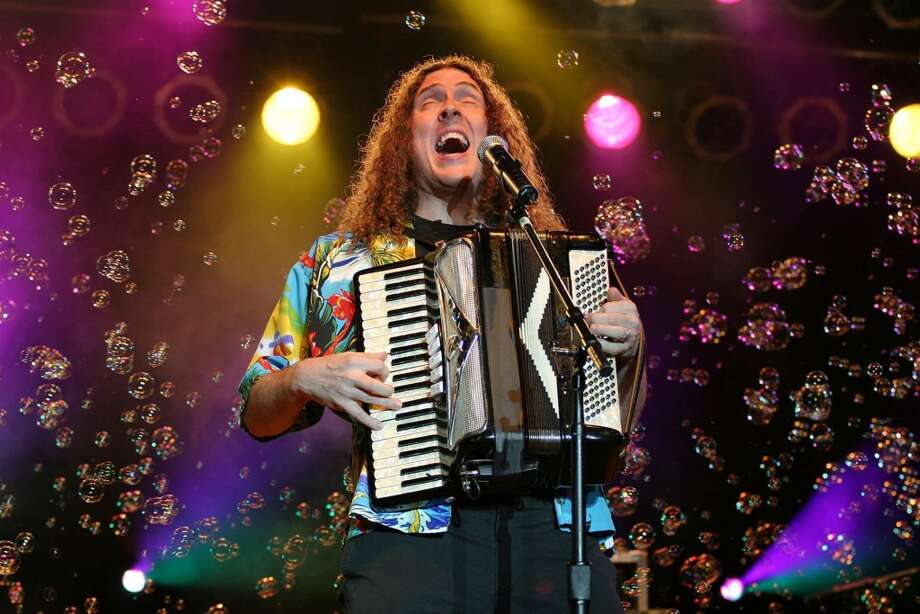 "Joke's on you:""Weird Al"" Yankovic's new record is a bonafide hit, skewering musicians like Robin Thicke, Pharrell Williams and Iggy Azalea. But what other celebs have fallen prey to Al's mocking melodies over the years? Click through for a list of ""Weird Al's"" best snarky song parodies. Or don't. The choice is yours.  Photo: KATHERINE BISH, KRT"