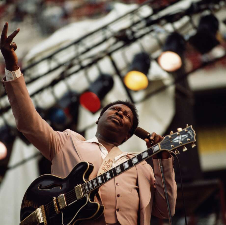 It was B. B. King at the Santa Fe Indian School in New Mexico. I was 8 years old and my dad took me because he was afraid B.B was getting too old to tour. Twenty-five years later he's still touring and I've seen him play two more times. 