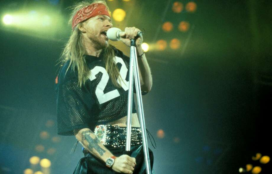 Guns N' Roses, Metallica and Faith No More -- Aug. 29, 1992 at Superdome in New Orleans. 