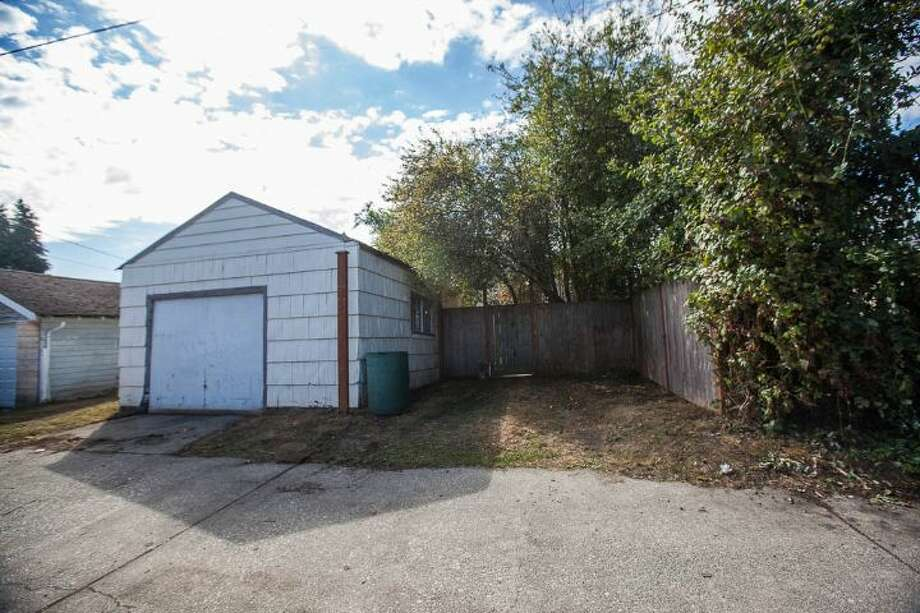 Garage of 7146 31st Ave. S.W. It's listed for $299,000. Photo: Courtesy Ben Carr, Windermere Real Estate