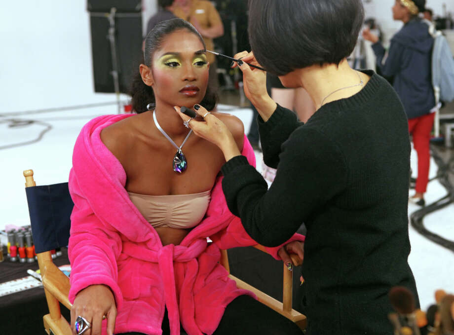"""America's Next Top Model -- """"The Girl Who's Scared of Clown""""  pictured: Renee Cycle 20 Photo: Patrick Wymore/The CW ©2013 The CW Network, LLC. All Rights Reserved Photo: Patrick Wymore, THE CW / ©2013 The CW Network, LLC. All Rights Reserved"""
