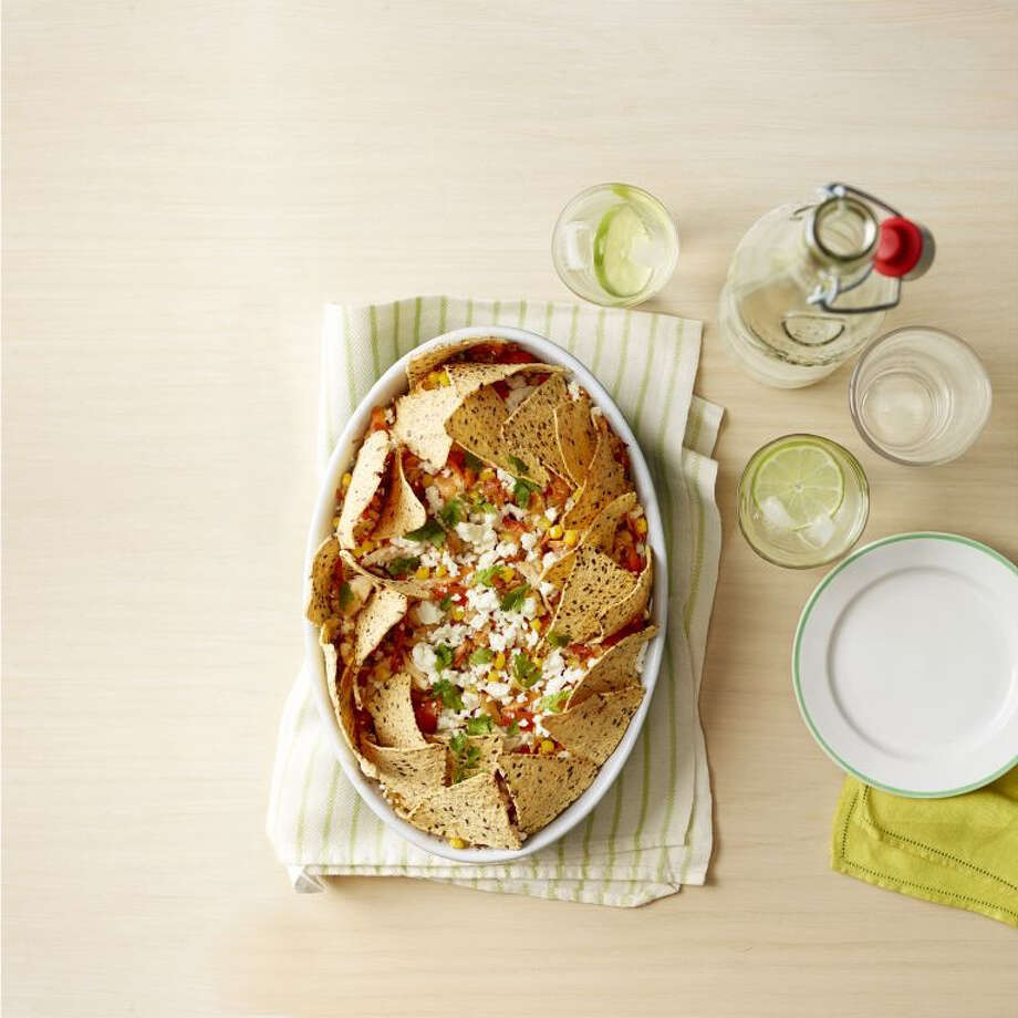 Good Housekeeping recipe for Fiesta Nacho Casserole. Johnny Miller
