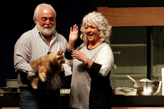 Paula Deen and her husband, Michael Groover, introduced their dog Lulu during her cooking demonstration at MetroCooking last year. Deen's presentation (sans Groover) is likely to be different this time around.