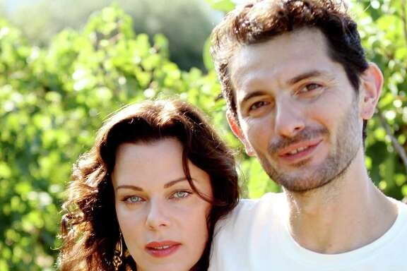 "Actress Debi Mazar and her Tuscan-born husband, Gabriele Corcos, invite viewers into their home and kitchen in the new series ""Extra Virgin"" on the Cooking Channel. She s a modern girl from Queens and he s a food purist from the hills of Tuscany and, with their young daughters Evelina and Giulia, they have a home life that blends their two opposite sensibilities, with delicious results."