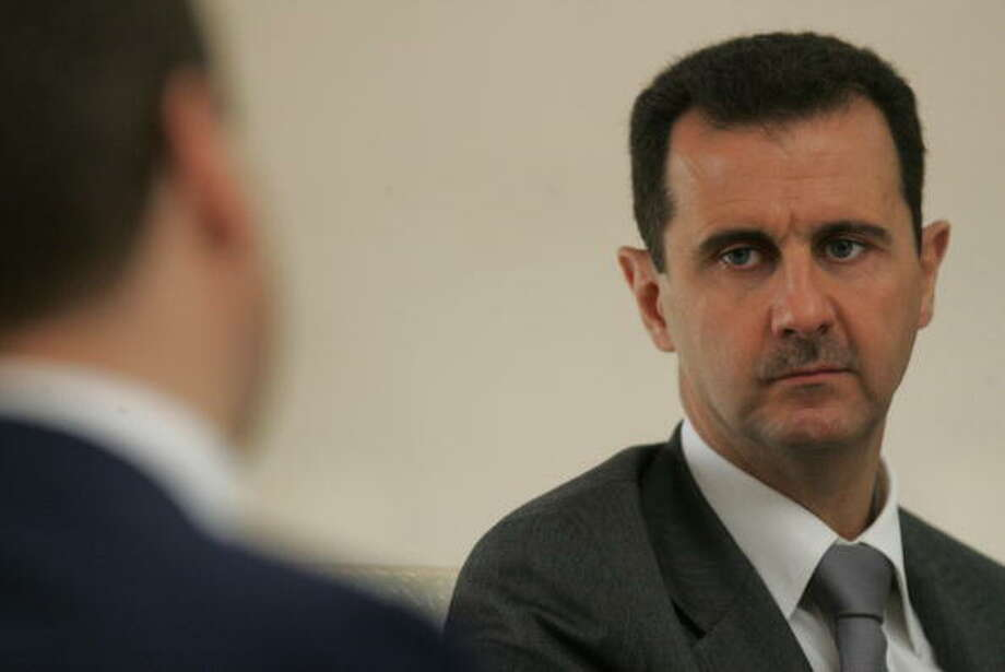 Bashar al-Assad has been the president and commander in chief since 2000. He is also the Regional Secretary of the Syrian-led branch of the Arab Socialist Ba'ath Party. Bashar is no stranger to the Western world: as a medical student, he trained and studied in London. Photo: Sasha Mordovets, Getty Images / 2010 Sasha Mordovets
