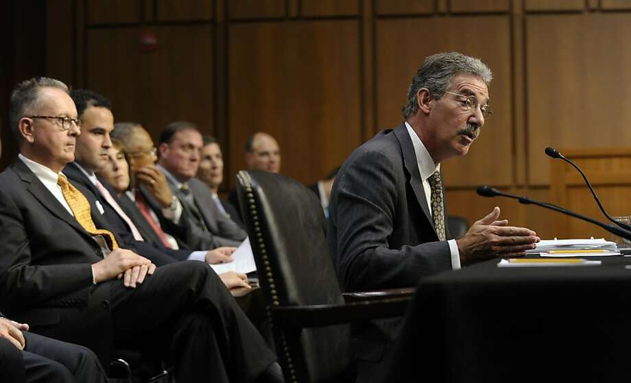 Deputy Attorney General James Cole defends the administration's decision to let marijuana laws in Colorado and Washington stand. Photo: Susan Walsh, Associated Press
