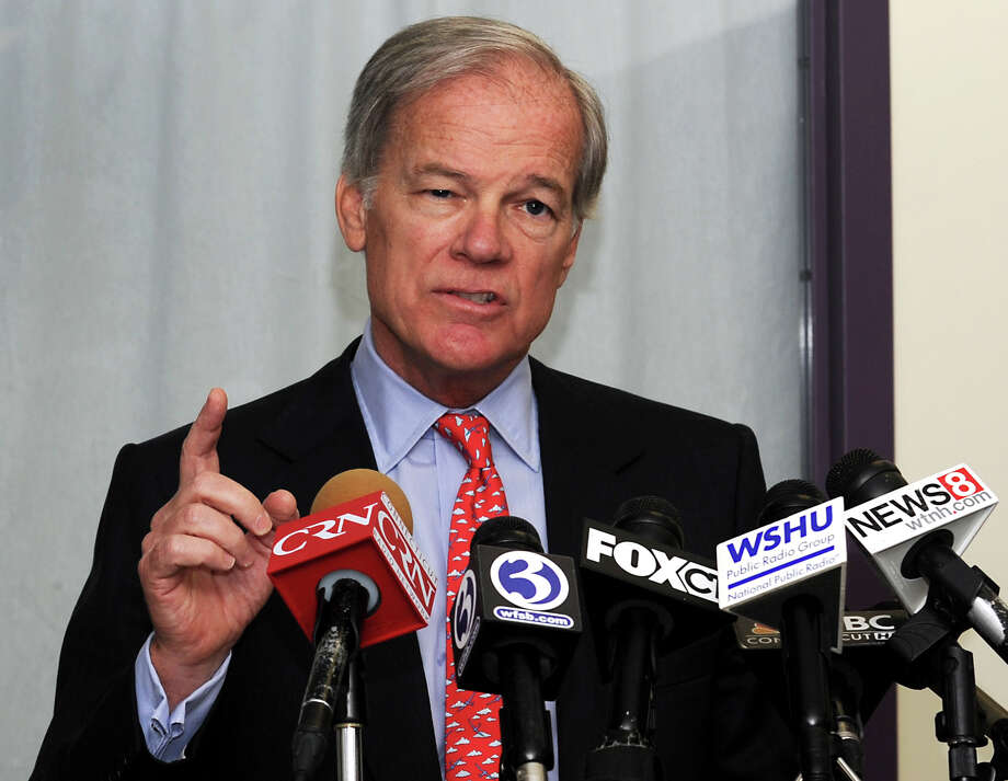 Republican Tom Foley announced he will form an exploratory committee for run for governor at a press conference held at Burroughs Community Center in Bridgeport, Conn. on Tuesday Sept. 10, 2013. Photo: Cathy Zuraw / Connecticut Post
