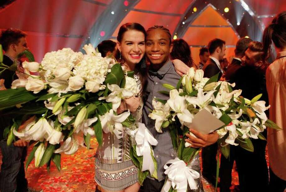 SO YOU THINK YOU CAN DANCE: L-R: Winning contestants Amy Yakima and Fik-Shun in the season finale episode of SO YOU THINK YOU CAN DANCE airing Tuesday, September 10 (8:00-10:00 PM ET/PT) on FOX. ©2013 FOX Broadcasting Co. Cr: Adam Rose / 1