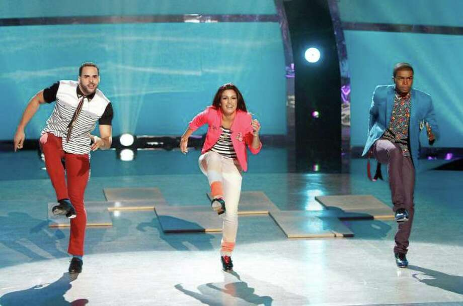 "SO YOU THINK YOU CAN DANCE: L-R: Top 20 contestants Aaron Turner, Alexis Juliano and Curtis Holland perform a Tap routine to ""You Really Did It"" choreographed by Anthony Morigerato in the season finale episode of SO YOU THINK YOU CAN DANCE airing Tuesday, September 10 (8:00-10:00 PM ET/PT) on FOX. ©2013 FOX Broadcasting Co. Cr: Adam Rose / 1"