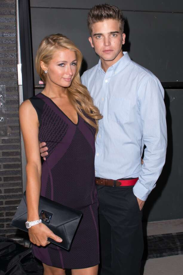 Paris Hilton (L) and River Viiperi attend the Diane Von Furstenberg After Show Dinner at The Diller - Von Furstenberg Building on September 8, 2013 in New York City. Photo: Michael Stewart, Getty Images
