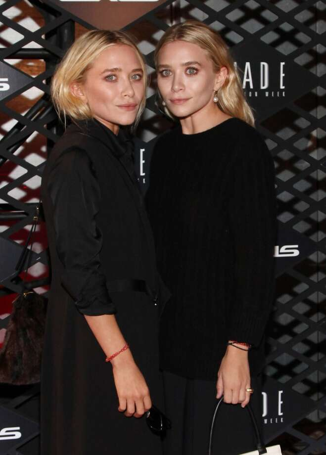 Mary-Kate Olsen and Ashley Olsen attend the Lexus Design Disrupted Fashion Event at SIR Stage 37 on September 5, 2013 in New York City. Photo: Taylor Hill, Getty Images
