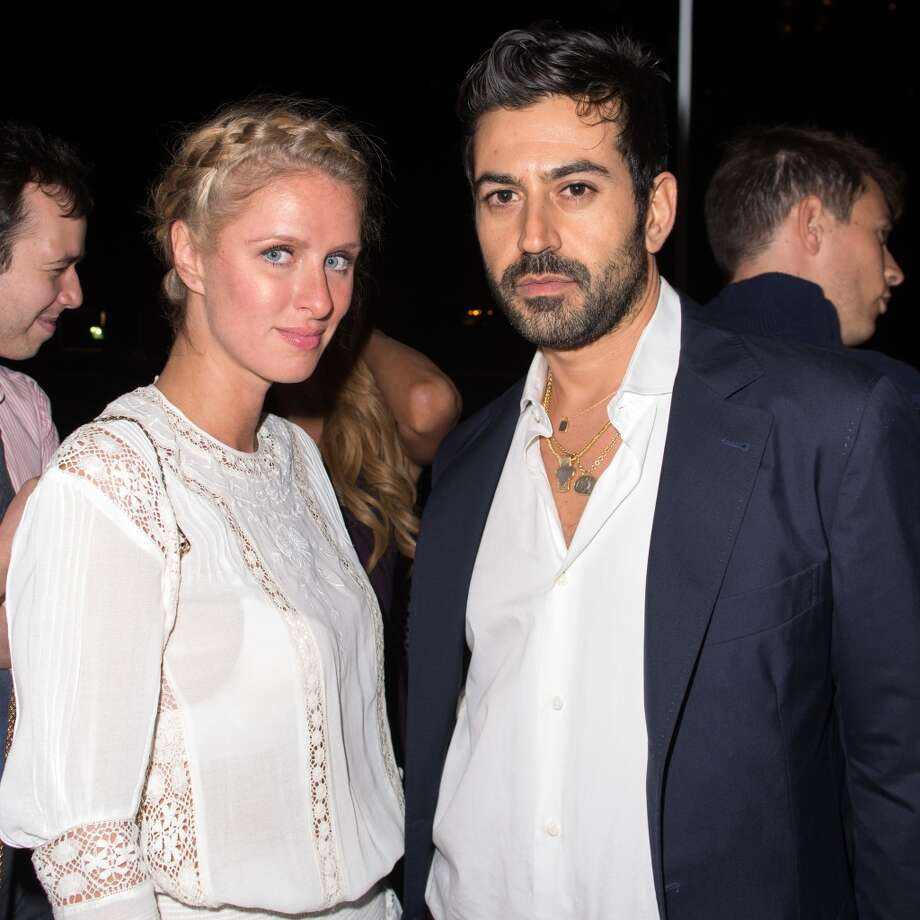 Nicky Hilton (L) and Eli Halili attend the Diane Von Furstenberg After Show Dinner at The Diller - Von Furstenberg Building on September 8, 2013 in New York City. Photo: Michael Stewart, Getty Images