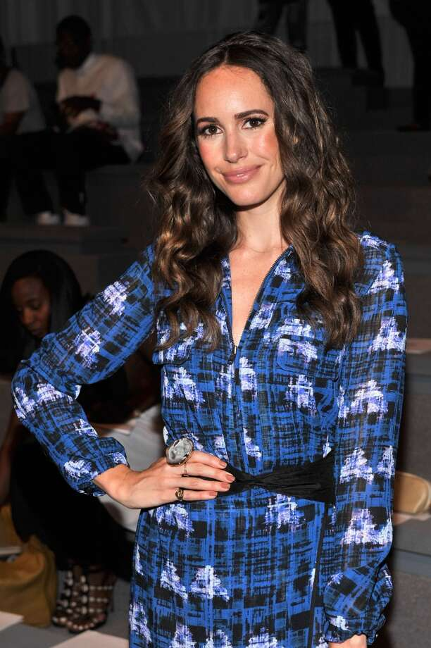 Louise Roe attends the Richard Chai Spring 2014 fashion show during Mercedes-Benz Fashion Week at The Stage at Lincoln Center on September 5, 2013 in New York City. Photo: Stephen Lovekin, Getty Images For Mercedes-Benz Fashion Week