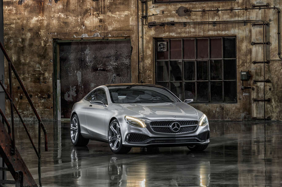 Mercedes unveiled this new S-Class concept coupe at the Frankfurt Motor Show.See all of the photos from the auto show.Automakers show off 11 wacky designs. Photo: Mercedes-Benz, Wieck / © 2013 Mercedes-Benz USA
