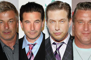 Famous:  Alec Baldwin.  Famous for `Glengarry Glen Ross,' `The Cooler,' `Blue Jasmine' and `30 Rock.'   Less famous:  William Baldwin.  Less famous for `Internal Affairs,' `Flatliners,' `Backdraft' and `The Squid and the Whale.'    Lesser famous:  Stephen Baldwin.  Lesser famous for `The Usual Suspect,' `Bio-Dome' and a religious conversion.    Least famous:  Daniel Baldwin.  Least famous for drug problems and appearances on celebrity reality shows such as `I'm a Celebrity, Get Me Out of Here!,' `Celebrity Rehab With Dr. Drew,' `Celebrity Fit Club' and `Celebrity Blackjack.'