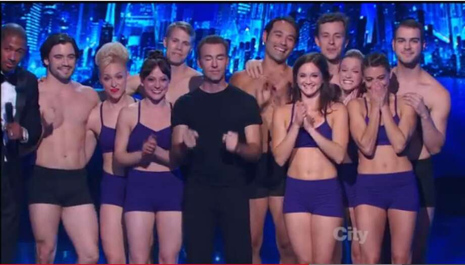 Catapult Entertainment, a Kent-based silhouette dance troupe, wowed judges with its performance featuring an anti-bullying message on America's Got Talent on Tuesday, Sept. 10, 2013.