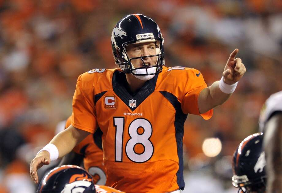 1. Broncos (1-0)Last week: 1  After tying a league record with seven touchdown passes, what does Peyton Manning do for an encore against his younger brother? Photo: Jack Dempsey, Associated Press