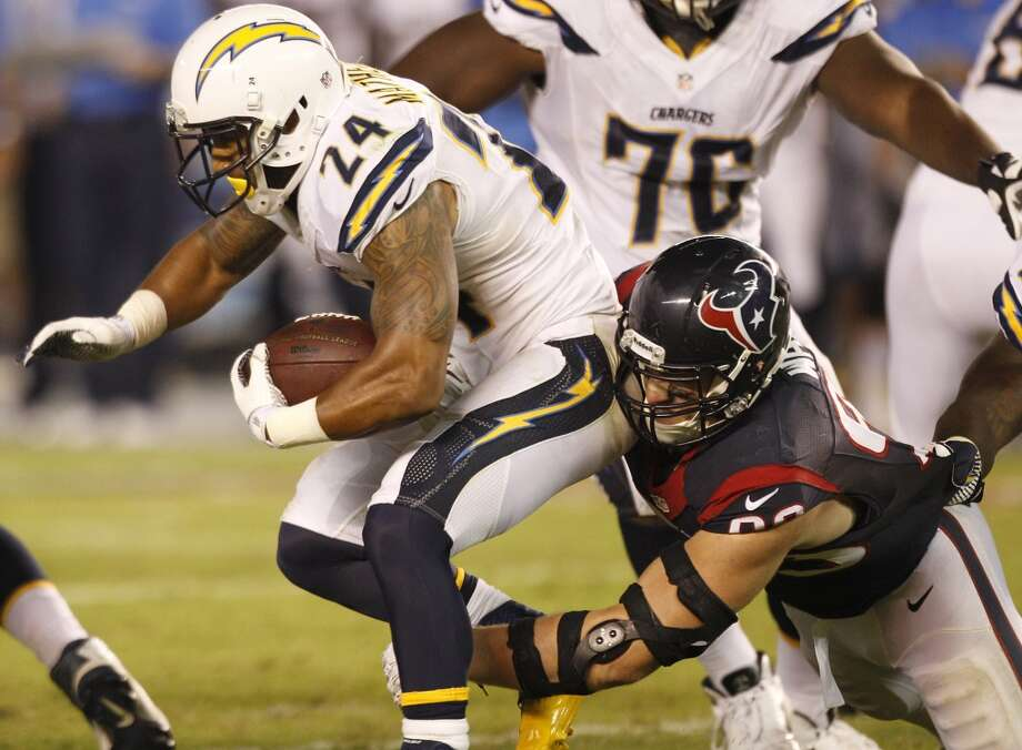 27. Chargers (0-1)Last week: 19  The Chargers visit Philadelphia, and it'll be interesting to see how they respond to the 31-28 loss to the Texans. Photo: Brett Coomer, Chronicle