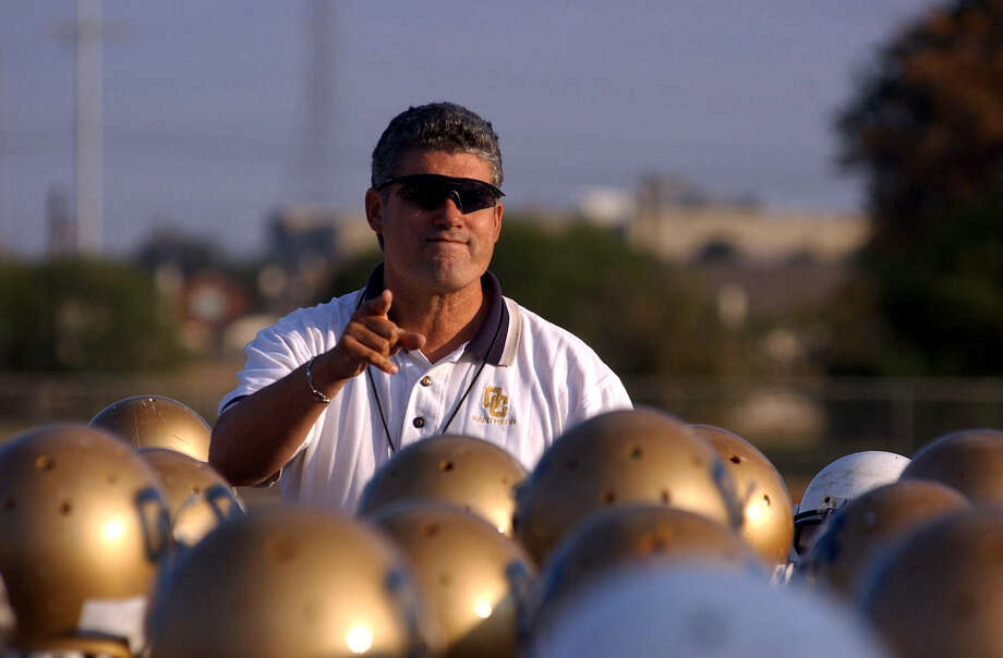 Danny Padron was the O'Connor Panthers' football coach for eight seasons before moving to the college ranks with Texas Lutheran University, where he is in his fourth year as head coach. Photo: Billy Calzada / San Antonio Express-News
