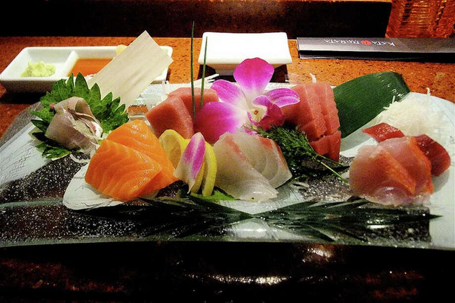 17. Kata RobataCuisine: Japanese Dish: sashimi platter Entree price range: $$$-$$$$ Where: 3600 Kirby Phone: 713-526-8858 Website: katarobata.com Read Alison Cook's review of Kata Robata. Photo: Alison Cook