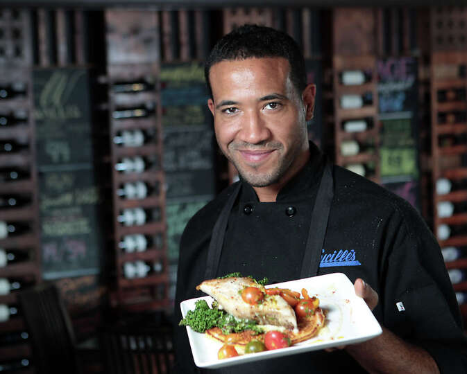 49. Lucille's Cuisine: American Dish: Chef Chris Williams with the Roasted Cobia