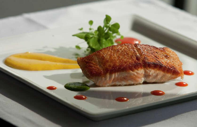 52. Kris Bistro Cuisine: French Dish: Salmon Winter Provencale Entree price rang