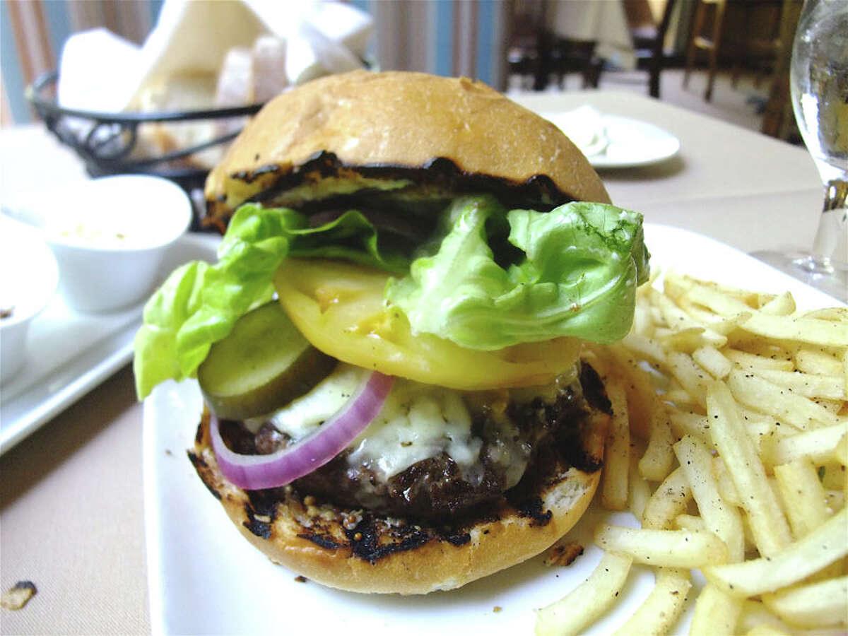 Rainbow Lodge Cuisine: American Dish: wild game burger Entree price: $$$$ Where: 2011 Ella Phone: 713-861-8666 Website: rainbow-lodge.com