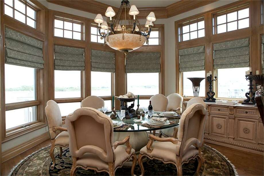 13415 Jibstay Court, GalvestonThe home features four bedrooms and four bathrooms in more than 5,600 square feet of living space. Listing agent: Carolyn Gaido