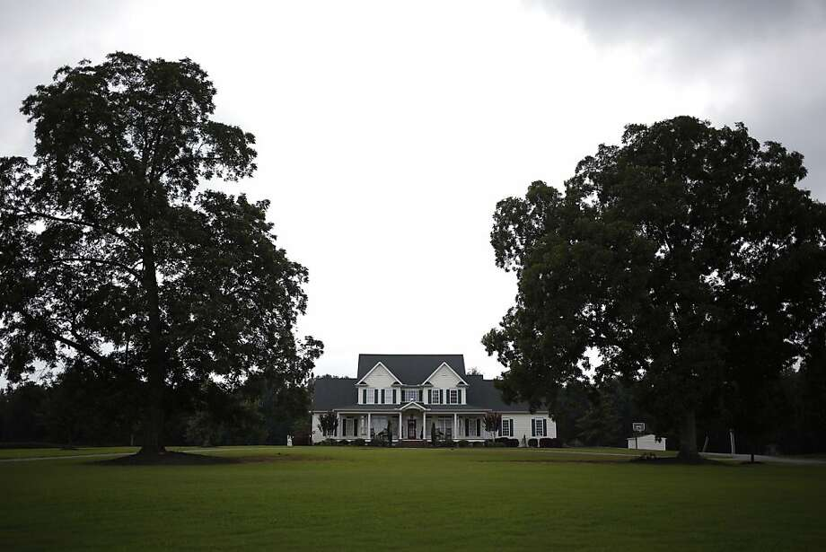 The home of Rep. Stephen Fincher, R-Tenn., who along with many of his Republican colleagues wants to eliminate food stamps for more than 800,000 Americans. Photo: Luke Sharrett, New York Times