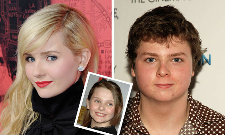 Famous: Abigail Breslin.  Famous for `Little Miss Sunshine,' which earned her an Oscar nomination, `Signs' and the upcoming `Ender's Game.'  Less famous: Spencer Breslin.  Less famous for `The Kid' with Bruce Willis and `Dr. Seuss' the Cat in the Hat.' Photo: Getty Images