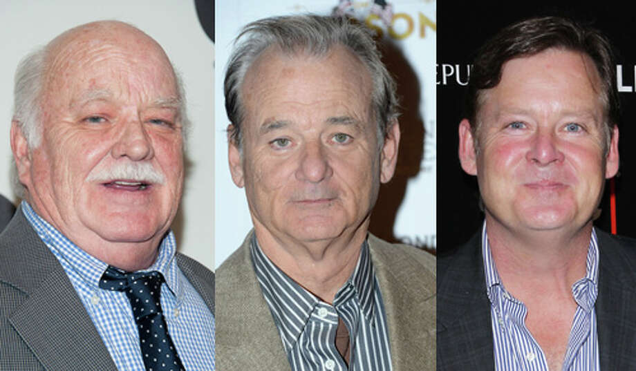 Famous:Bill Murray.  Famous for `Meatballs,' `Caddyshack,' `Stripes,' `Ghostbusters,' `Groundhog Day,' `Rushmore,' `Kingpin,' `Lost in Translation' … the list goes on and on.  Less famous: Brian Doyle-Murray (left).  Less famous for some time spent on `Saturday Night Live,' though you'll recognize his face.  Lesser famous: Joel Murray.  Lesser famous for `Shameless.' He also has a face you'll know. Photo: Getty Images