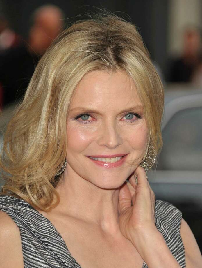 "Michelle Pfeiffer attends the premiere of ""People LIke Us"" at Regal Cinemas L.A. LIVE on Friday June 15, 2012 in Los Angeles, California. (Photo by John Shearer/Invision/AP) Photo: John Shearer / 2012 Invision"