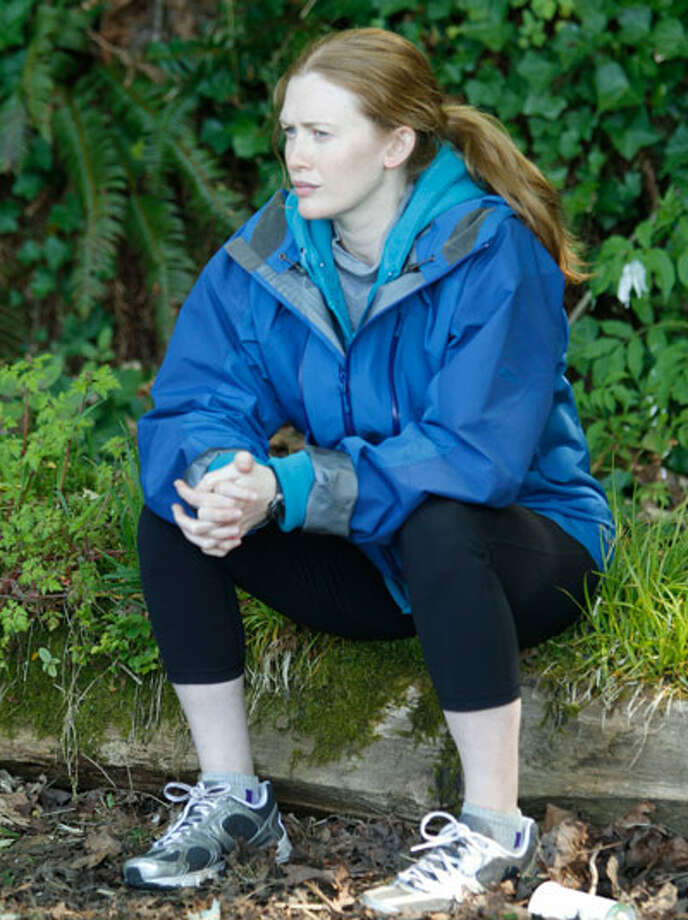 Typical Seattleite? Seattle police detective Sarah Linden (Mireille Enos). Photo: Chris Large / Copyright: AMC 2010