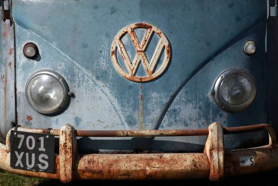 An early Type 2 Volkswagen van at Vanfest  in Malvern Wells, England Sept. 13, 2009. Photo: Matt Cardy, Getty Images