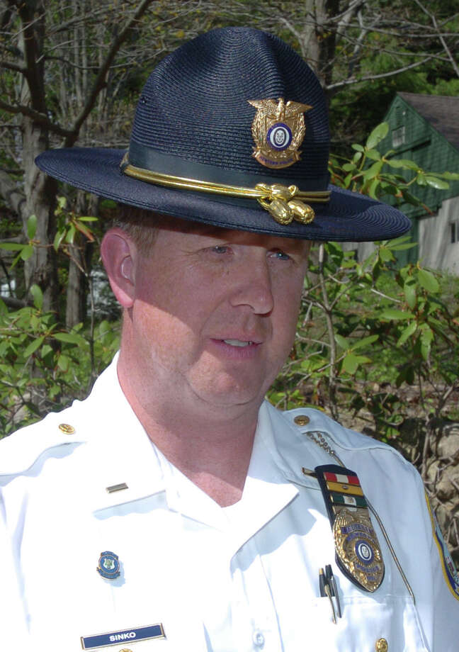 Lt. George Sinko, of Newtown Police Department. Photo: Chris Ware/ File, ST / The News-Times