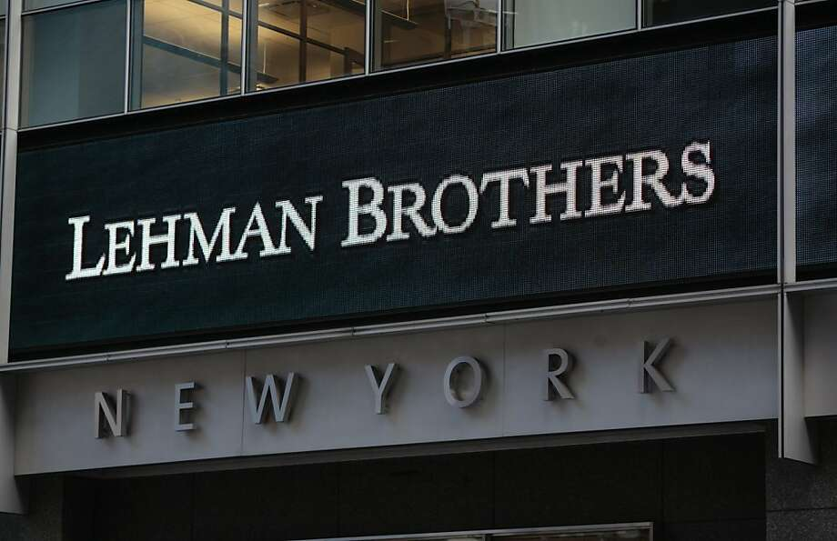 The 2008 collapse of Lehman Brothers led to the worst financial crisis since the 1930s. Photo: Nicholas Roberts, AFP/Getty Images